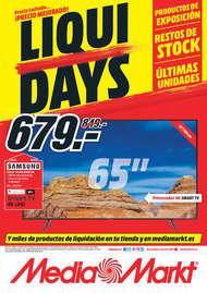 Precio tachado... ¡precio mejorado! Liqui Days