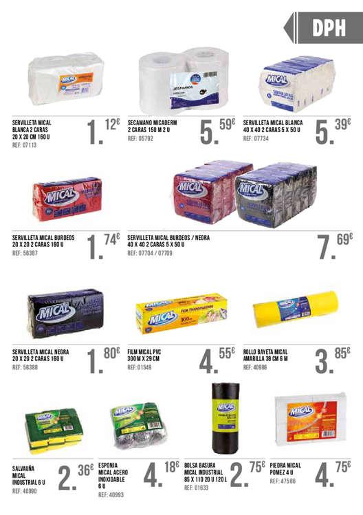 Ofertas de GM Cash & Carry, Básicos de Hostelería