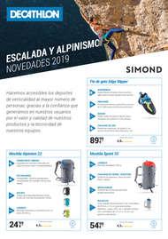 Escalada y alpinismo. Novedades 2019