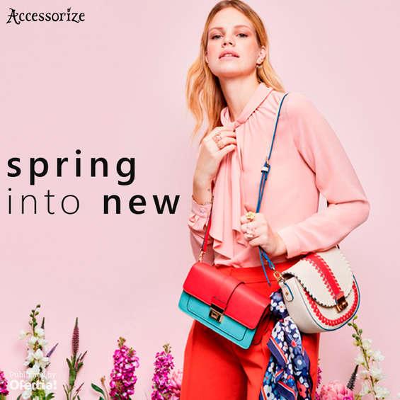 Ofertas de Accessorize, Spring into new
