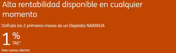 Ofertas de ING Direct, Nueva cuenta naranja