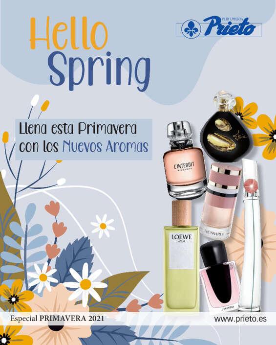 Ofertas de Perfumería Prieto, Hello Spring