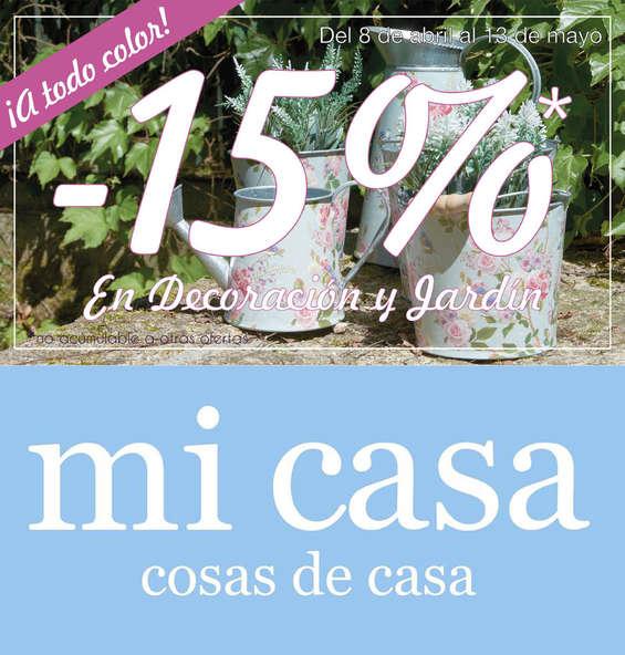 Ofertas de Mi Casa, -15%