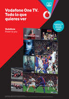 Ofertas de Vodafone, Vodafone One TV