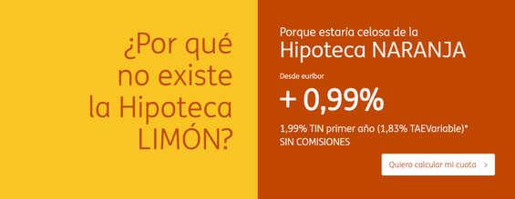 Ofertas de ING Direct, La hipoteca Naranja