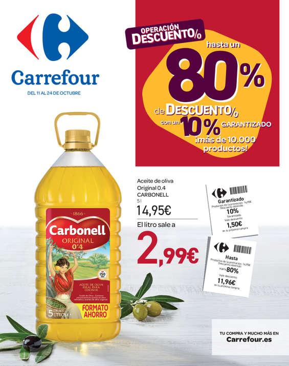 Cat 225 Logo Ofertas Carrefour Valencia Folleto Carrefour