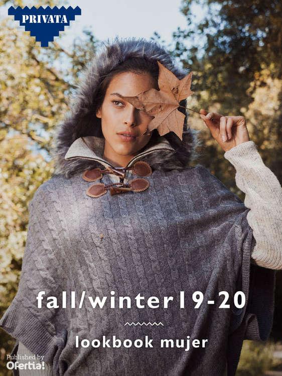 Ofertas de Privata, Fall winter 19-20 lookbook mujer