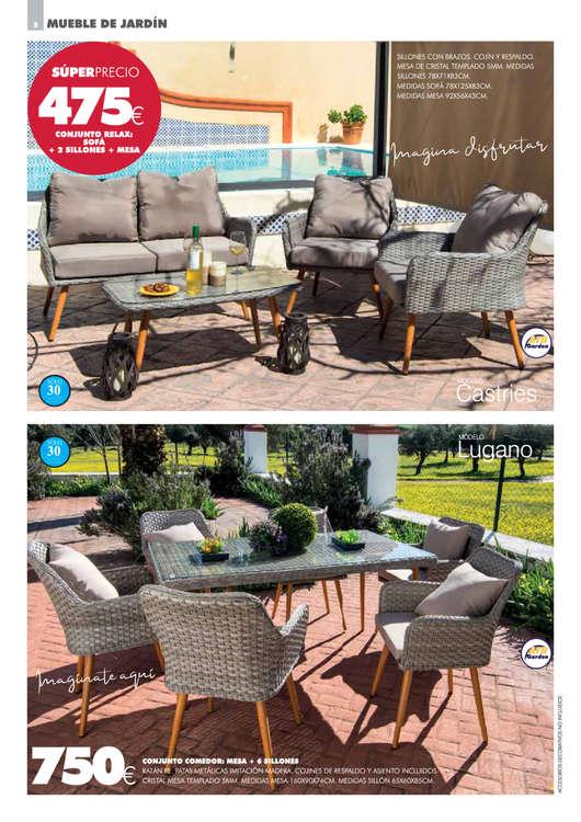 Comprar Mobiliario de jardín barato en Almendralejo - Ofertia