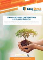Ofertas de Cash Diplo, ¡En Cash Diplo nos comprometemos con el medio ambiente!
