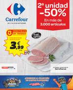Ofertas de Carrefour, 2ª unidad -50%