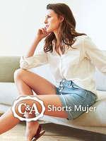 Ofertas de C&A, Shorts Mujer