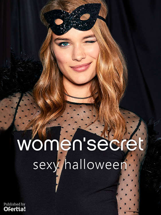 Ofertas de Women'Secret, Sexy Halloween