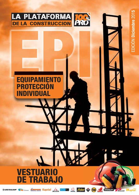 Ofertas de La Plataforma de la Construcción, Equipamiento de Protección Individual