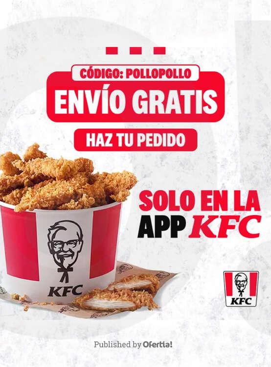 Ofertas de KFC, Solo en la app KFC