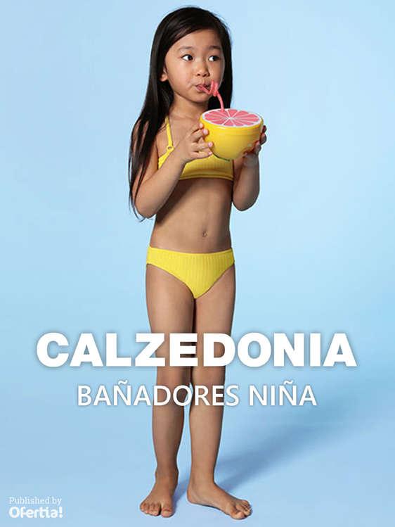 Ofertas de Calzedonia, Bañadores niña