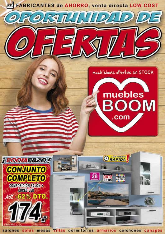 Ofertas de Muebles Boom, Oportunidad de ofertas