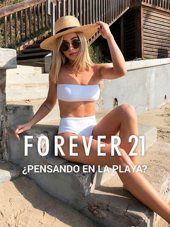 Ofertas de Forever 21, ¿Pensando en la playa?