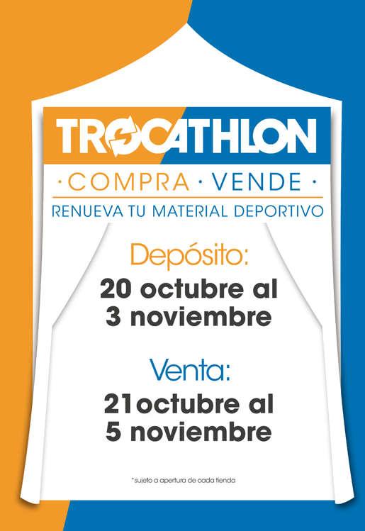 Ofertas de Decathlon, Trocathlon