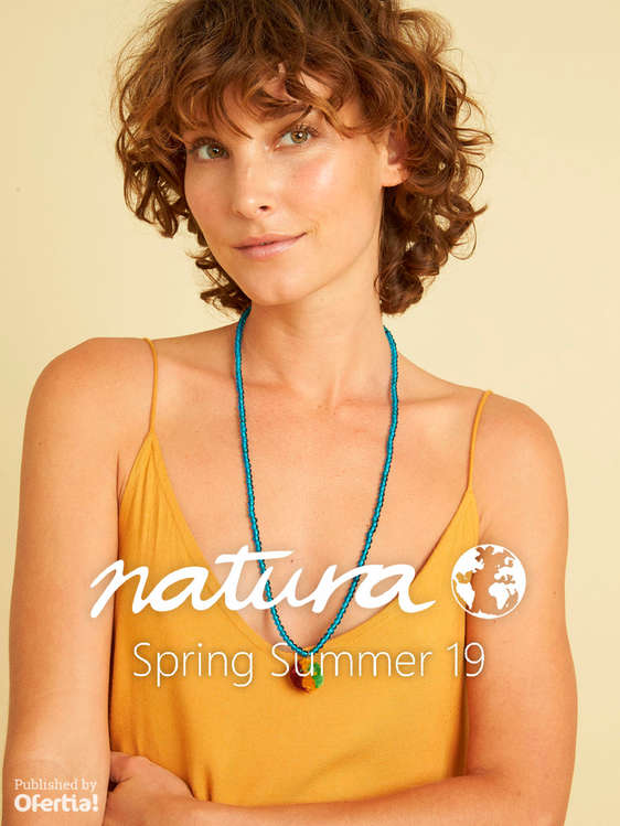 Ofertas de Natura, Spring Summer 19